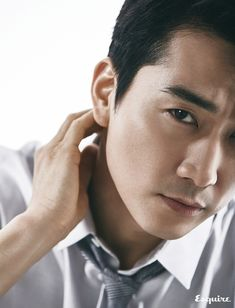 Charming Song Seung Heon For March Esquire | Couch Kimchi