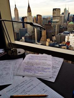 Wouldn't mind studying all the time if the view in front of me is always like that!