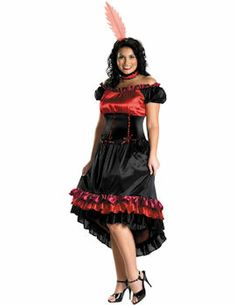 Can Can Cutie Costume (Plus Size) : Get It On Fancy Dress Superstore, Fancy Dress & Accessories For The Whole Family. http://www.getiton-fancydress.co.uk/adult-costumes/burlesque/can-can-cutie-costume-plus-size#.UtboQvu6_oY