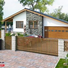 Dřevěný plot - Borovice Teak, Shed, Home And Garden, Outdoor Structures, Outdoor Decor, Home Decor, Fence Ideas, Gardening, Pine Tree