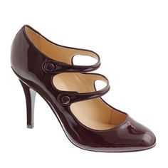 Mona patent Mary Janes, love it in the bordeaux esque shade