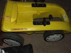 Little Tikes Pedal Car Sorts Coupe  I'm trying so hard to find one of these for Ian!