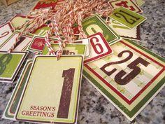 christma countdown, christma decor, christma advent, christma set