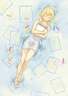 Tags: Anime, Fanart, SQUARE ENIX, Naminé, Kingdom Hearts: Chain of Memories