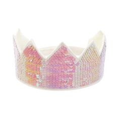 The best dress up crown from Meri Meri, stylishly matching all of their outfits. Crafted from shimmering iridescent sequins, it'll really make a statement! Dress Up Wardrobe, Princess Centerpieces, Baby Shower Advice, Dress Up Boxes, Kids Dress Up, Hook And Loop Fastener, Sequin Fabric, Kind Mode, Best Part Of Me