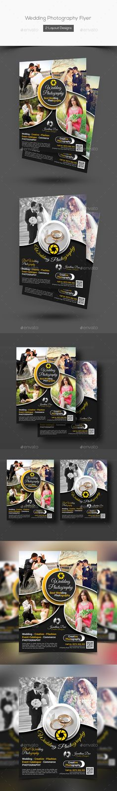 Wedding Photography Flyer Template PSD. Download here: http://graphicriver.net/item/wedding-photography-flyer/15166810?ref=ksioks