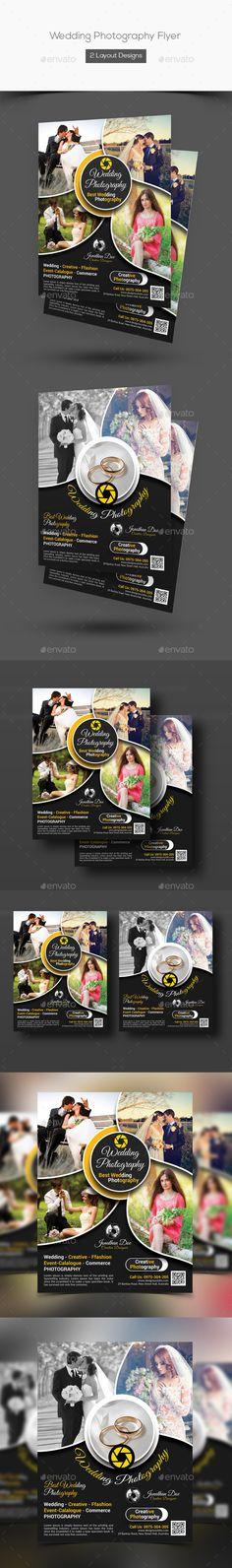 Wedding Photography Flyer Photography flyer, Flyer printing and - wedding flyer