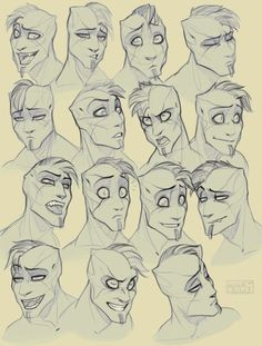 57 Ideas For Drawing People Cartoon Illustration Anatomy Cartoon Drawings Of People, Cartoon People, Cartoon Sketches, Cartoon Faces, Drawing People, Male Face Drawing, Drawing Eyes, Face Sketch, Guy Drawing