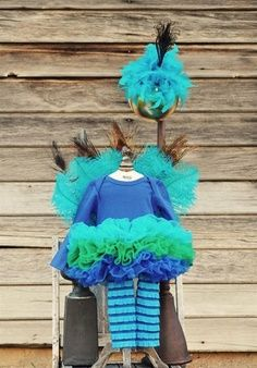 diy peacock costume for kids - Google Search