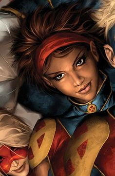 """Becka Munroe, daughter of Storm ✮✮""""Feel free to share on Pinterest""""✮✮"""" #super heros www.fashionupdates.net"""