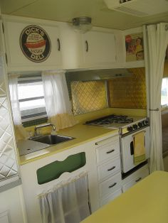 kitchen ideas for my vintage trailer
