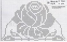 Rosendeckchen häkeln - crochet doily