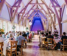 A wedding reception at The Mill Barns wedding venue in Shropshire | CHWV