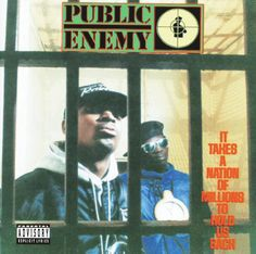 Today in Hip Hop History:Public Enemy released their second. Today in Hip Hop History: Public Enemy released their second album It Takes A Nation Of Millions To Hold Us Back June 28 1988 Rap Albums, Hip Hop Albums, Best Albums, Music Albums, Greatest Albums, Andy Dufresne, Rap Us, Public Enemies, Cypress Hill