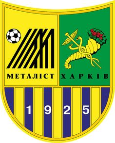 Football Club Metalist Kharkiv (Ukrainian: Футбо́льний Клуб Металі́ст Ха́рків, Russian: Футбо́льный клуб Металли́ст Ха́рьков) | Country: Україна / Ukraine. País: Ucrania. | Founded/Fundado: 1925 | Badge/Crest/Logo/Escudo.