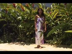 How to Wear Your Pareo (sarong)