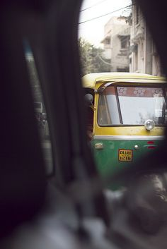 Rickshaw, New Delhi, India.  Was so excited to snap photos on this journey that I couldn't even get out of the taxi first... Photographer: Rebecca Erkenstam