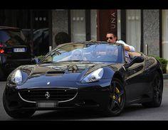 Lindsey Lohan - Ferrari California