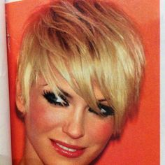 Short and blonde... sometimes I think about doing this. Then I chicken out :)