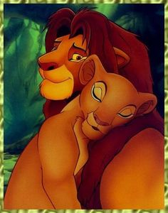 "Day 15: favorite romantic moment. Simba and Nala during the song ""Can You Feel the Love Tonight"""