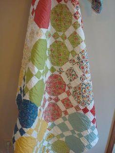 Snowball Quilt Pattern | Snowball quilt