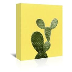 Shop for 'Cactus on Yellow' Gallery-wrapped Canvas Wall Art. Get free delivery at Overstock.com - Your Online Art Gallery Store! Get 5% in rewards with Club O! - 21506773