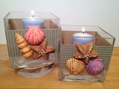 Beth Watson Design Studio - Cool2Cast seashell votives.