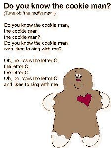 Cookie Jar Song Cool Great For Beginning Of The Yearcould Make A Class Book With