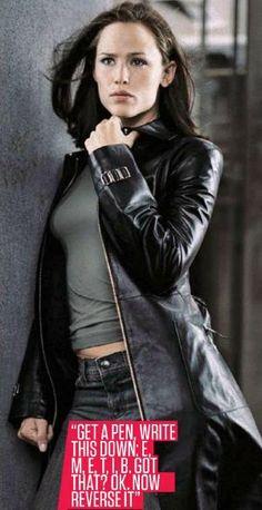 Jennifer Garner AKA Sydney Bristow. #Alias