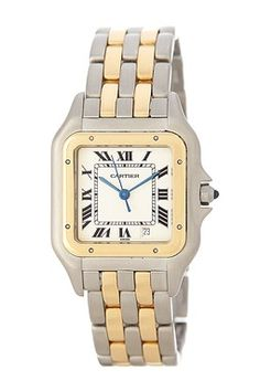Vintage Cartier Men's/Unisex Panthere 18k Yellow Gold Watch