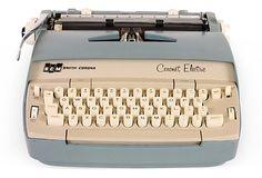 Aah the Smith-Corona Electric Typewriter, isn't she lovely.  on OneKingsLane.com