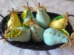 PAP das peras em tecido