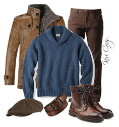 """Men's Winter"" by keri-cruz on Polyvore featuring Browns, Superdry, Zadig & Voltaire, Uniqlo, men's fashion and menswear"