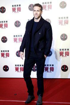 Ryan Reynolds promotes the new movie 'Deadpool' on January 21, 2016 in Taipei, Taiwan of China.