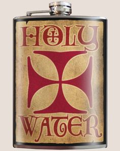 """""""Holy Water"""" Flask"""