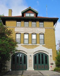 Fire Station No. 9 -    Located just off Central Avenue in Kansas City, Kansas