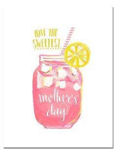 Mothers Day Card Printables #behindthepalette www.evelynhenson.com