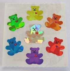 I used to spend most of my pocket money on stickers, gift and stationary shops used to sell them on rolls <3