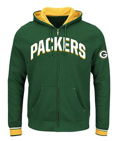 Another great find on #zulily! Green Bay Packers Zip-Up Hoodie - Big & Tall #zulilyfinds