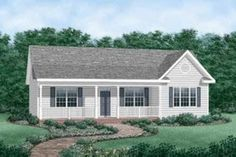House Plan 66-187 Ranch Style***