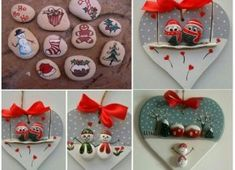 Try these Cute Christmas Rock Painting ideas for Kids – Total Survival – BuzzTMZ Rock Painting Patterns, Rock Painting Ideas Easy, Painting For Kids, Halloween Rocks, Easy Halloween, Christmas Rock, Christmas Crafts, Christmas Ideas, Christmas 2019