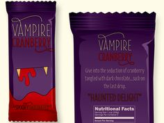 Vampire Cranberry chocolate from Spooky Chocolates