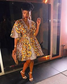 Unleash Your Style In These Jaw-Dropping Ankara Styles - Wedding Digest Naija African Print Dresses, African Fashion Dresses, African Attire, African Wear, African Women, African Dress, African Style, African Prints, African Outfits