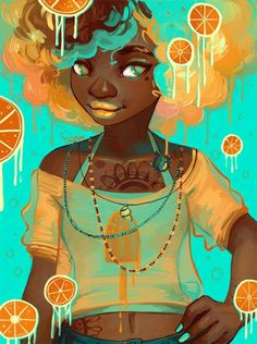 Oldish art but just now posting African American Art, African Art, Character Art, Character Design, Arte Black, Black Art Pictures, Fanart, Afro Art, Magic Art