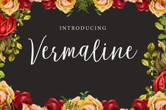 Vermaline 60%Off by fontasticlab on @creativemarket