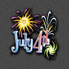 4th of july - 4th Of July - T-Shirt | TeePublic