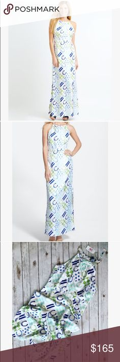 💗Beautiful Vineyard Vines silk maxi dress💗 💗 BEAUTIFUL Vineyard Vines silk maxi dress, gorgeous print new with tags size 14 💗 Vineyard Vines Dresses Maxi