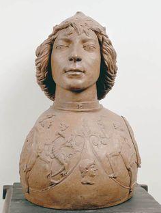 Andrea del Verrocchio, Young Warrior c. 1470 Terracotta, height 52 cm Museo Nazionale del Bargello, Florence