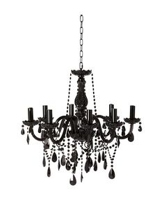 "If I ever have an ""emo"" Victorian room, this chandelier is so going in there..."