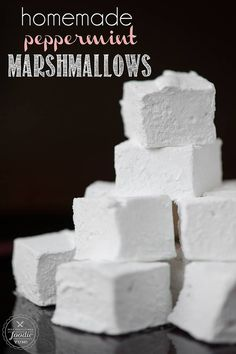Homemade Peppermint Marshmallows   Self Proclaimed Foodie